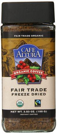 Café Altura Freeze Dried Instant Coffee
