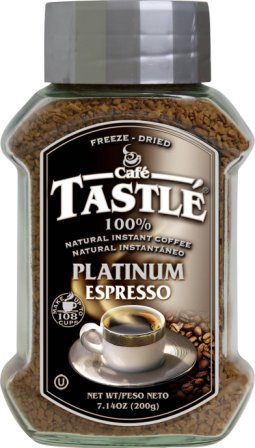 Café Tastle Freeze Dried Instant Coffee