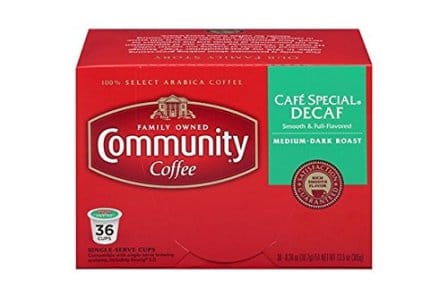 Community Coffee – Café Special Decaf Medium Dark Roast