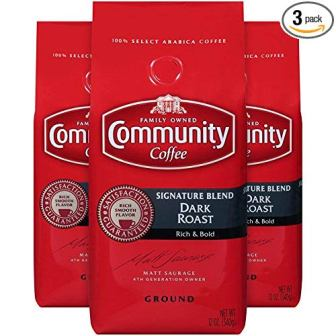 Community Coffee Dark Roast Signature Blend