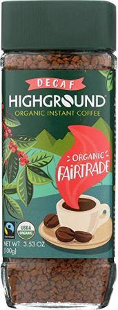 Highground – Organic Instant Decaf Coffee