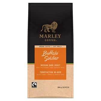 Marley Coffee Buffalo Soldier Ground Coffee, Medium-Dark Roast