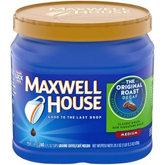 Maxwell House – The Original Roast Decaf