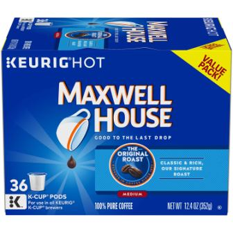 Maxwell House Original Roast Coffee Blend