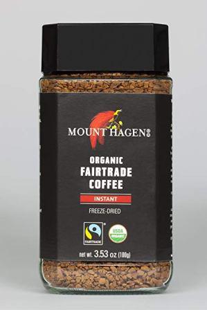 Mount Hagen –Organic Instant Decaf Fairtrade Coffee