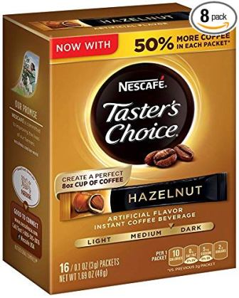 Nescafe Taster's Choice Hazelnut Instant Coffee