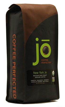 New York Jo- 12 oz. Medium Dark Roast Organic Ground Coffee
