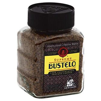 Bustelo Supreme Regular Freeze Dried Instant Coffee