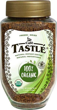 Café Tastle 100% Organic Instant Coffee