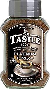 Café Tastle Platinum Espresso Freeze Dried Instant Coffee