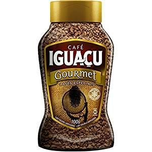 Cafe Iguacu Gourmet Cafe Especials Freeze Dried Instant Brazilian Coffee