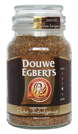 Douwe Egberts Medium Roast Pure Gold Freeze Dried Instant Coffee