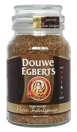 Douwe Egberts Medium Roast Pure Gold Freeze Dried Instant Coffee