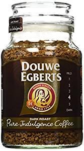 Douwe Egberts Pure Indulgence Instant Coffee in Jar Dark Roast