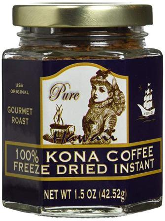 Hawaii 100% Kona Coffee Instant Freeze Dried