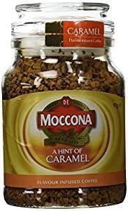 Moccona Freeze Dried Coffee Caramel Infused