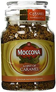 Moccona Freeze Dried Coffee Caramel Infused