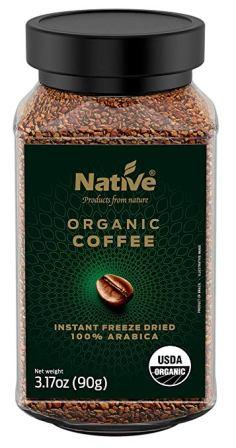 Native Organic Instant Freeze Dried Coffee