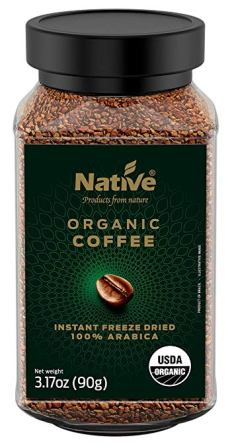 Native Organic Instant Freeze Dried Coffee