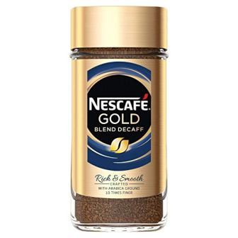 Nescafé Gold Blend Decaf Freeze Dried Instant Coffee