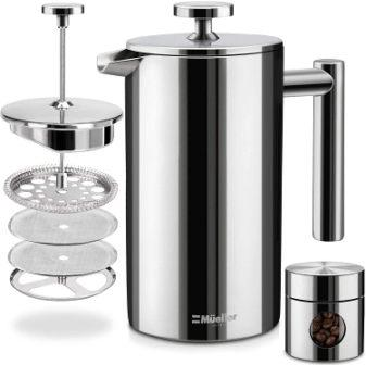 BRUHEN KLASSIK FRENCH PRESS COFFEE MAKER