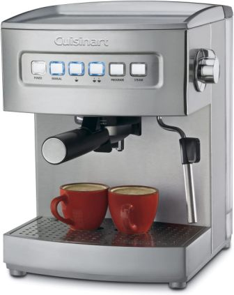 Cuisinart Stainless Steel 1000-Watt 15-Bar Espresso Maker